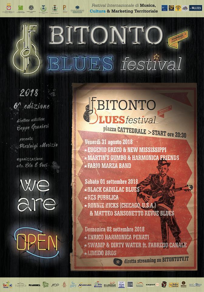 Bitonto Blues Festival - edizione 2018